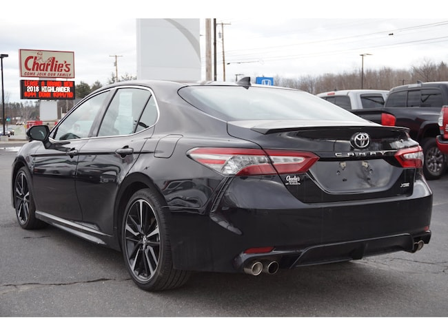 used 2018 toyota camry for sale augusta me stock t8279a. Black Bedroom Furniture Sets. Home Design Ideas