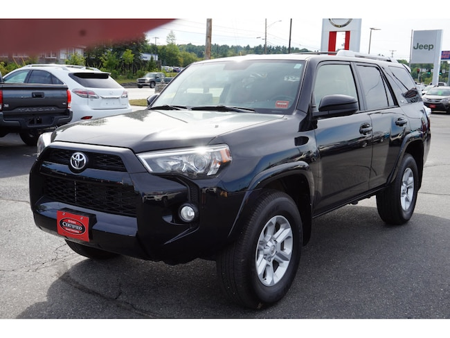 Used 2018 Toyota 4Runner SUV For Sale Augusta, ME