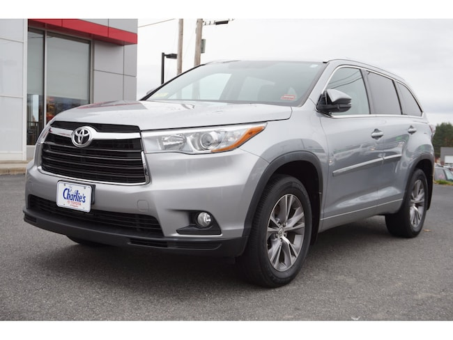 2015 Toyota Highlander For Sale >> Used 2015 Toyota Highlander For Sale Augusta Me Stock T9089a