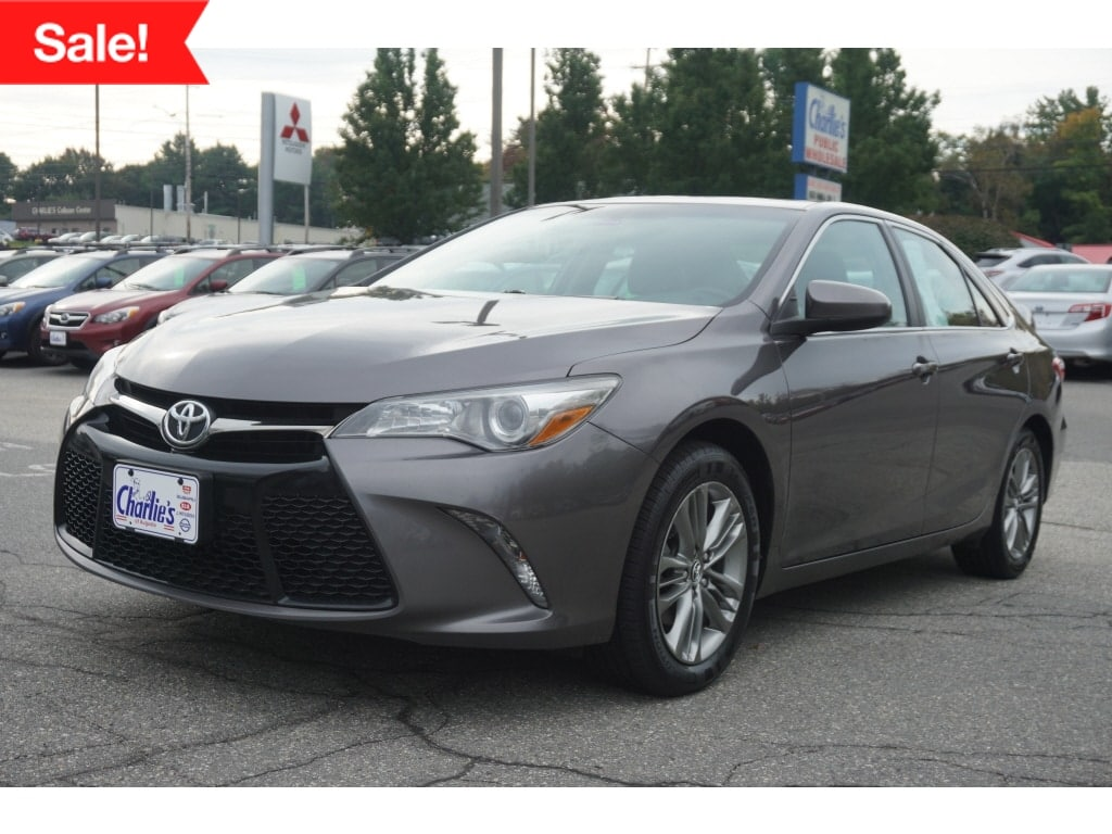 Featured Used 2016 Toyota Camry Sedan for Sale near Waterville, ME