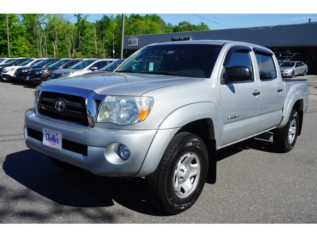 2008 Toyota Tacoma For Sale >> Used 2008 Toyota Tacoma For Sale At Charlie S Nissan Vin