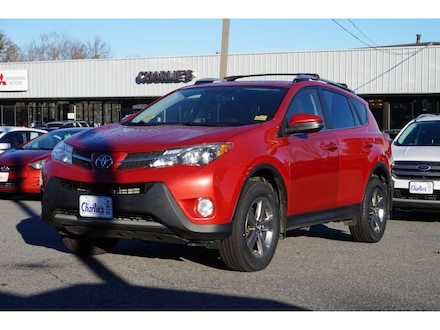 Featured Used 2015 Toyota RAV4 SUV for Sale near Waterville, ME