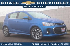 New 2019 Chevrolet Sonic LT Auto w/1SD Hatchback 1G1JD6SB6K4108671 for Sale in Stockton, CA at Chase Chevrolet