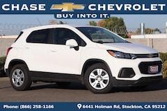 New 2019 Chevrolet Trax LS SUV 3GNCJKSB5KL168394 in Stockton, CA