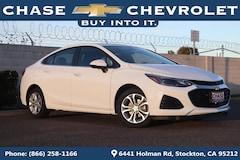 New 2019 Chevrolet Cruze LT Sedan 1G1BE5SM2K7129724 for Sale in Stockton, CA at Chase Chevrolet