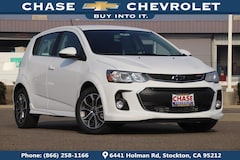 New 2019 Chevrolet Sonic LT Auto w/1SD Hatchback 1G1JD6SB4K4114744 for Sale in Stockton, CA at Chase Chevrolet
