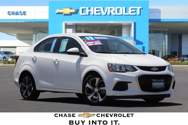 Certified Used 2017 Chevrolet Sonic For Sale In Stockton Ca
