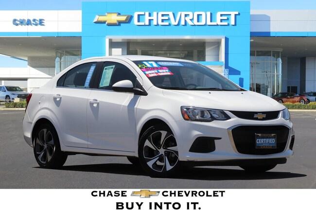 2017 Chevrolet Sonic Premier Auto Sedan