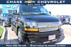 New 2018 Chevrolet Express 2500 Work Van Van Cargo Van 1GCWGAFG6J1336621 for Sale in Stockton, CA at Chase Chevrolet