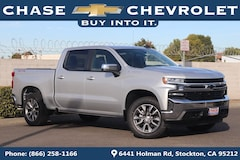 New 2019 Chevrolet Silverado 1500 LT Truck Crew Cab 1GCUYDED6KZ108764 for Sale in Stockton, CA at Chase Chevrolet
