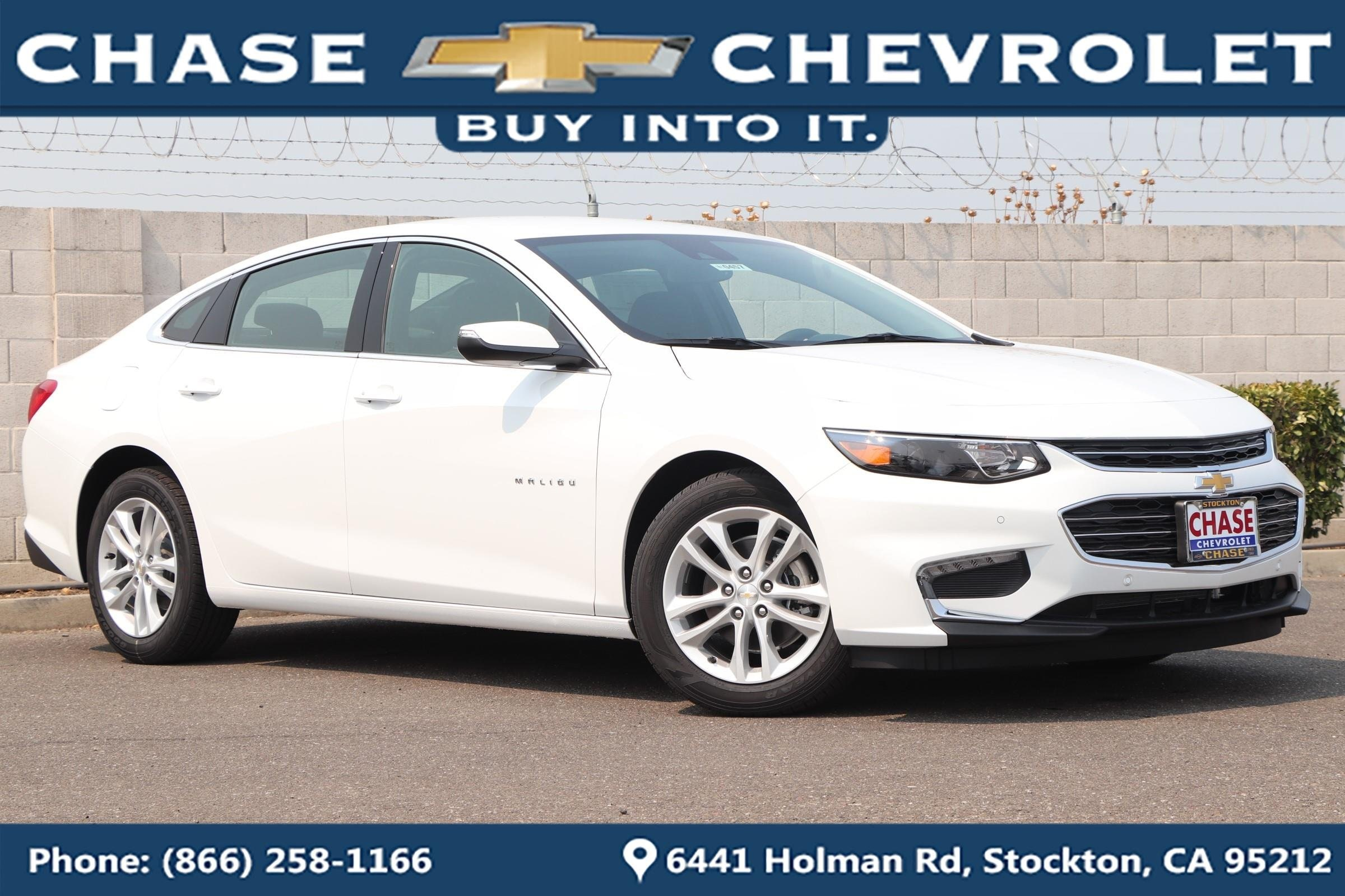 New Chevrolet Malibu in Stockton CA