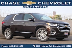 New 2019 Chevrolet Traverse High Country SUV 1GNEVJKW1KJ189373 in Stockton, CA