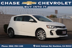 New 2019 Chevrolet Sonic LT Auto w/1SD Hatchback 1G1JD6SB8K4108493 for Sale in Stockton, CA at Chase Chevrolet
