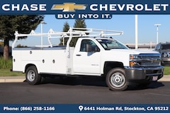 New 2019 Chevrolet Silverado 3500HD Chassis WT Truck Regular Cab 1GB3CVCGXKF128521 for Sale in Stockton, CA at Chase Chevrolet