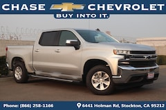 New 2019 Chevrolet Silverado 1500 LT Truck Crew Cab 1GCPWCED3KZ168224 in Stockton, CA