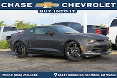 New 2018 Chevrolet Camaro 2LT Coupe 1G1FC1RS9J0151361 in Stockton, CA