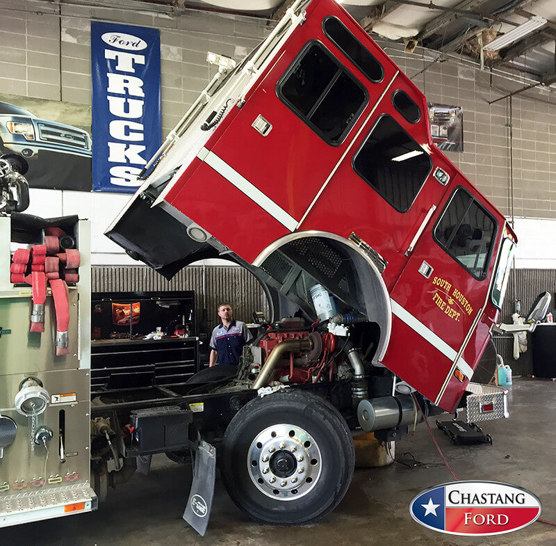 Chastang Ford Service >> Commercial Truck Repair & Fleet Maintenance | Houston Ford Dealership