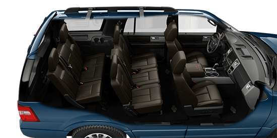 Ford Expedition King Ranch Blue Jeans Interior Photo
