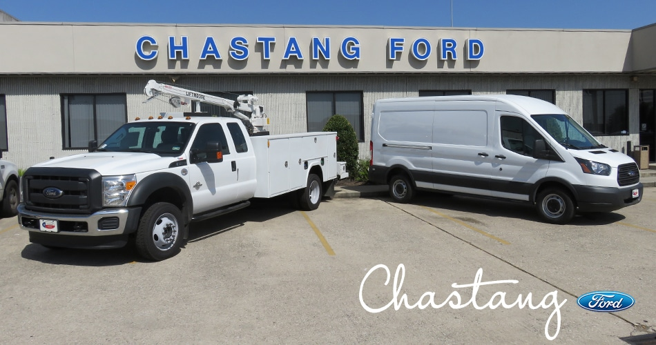 Houston Commercial Ford Truck Upfit