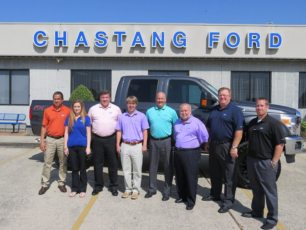 Chastang Ford Sales Team