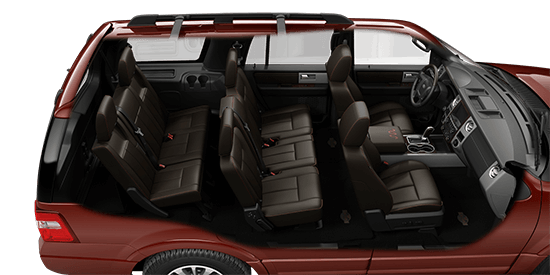 Ford Expedition King Ranch Bronze Fire Interior Photo