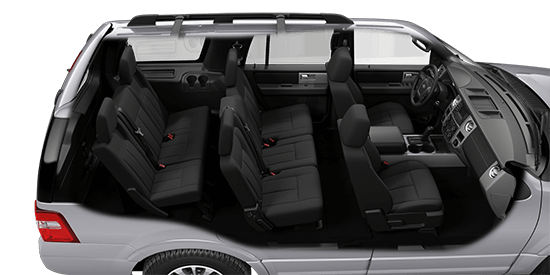 Ford Expedition Xlt Black Interior Cloth Photo
