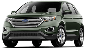 Deep Impact Exterior Color Image  Ford Edge Se Guard Green Exterior Color