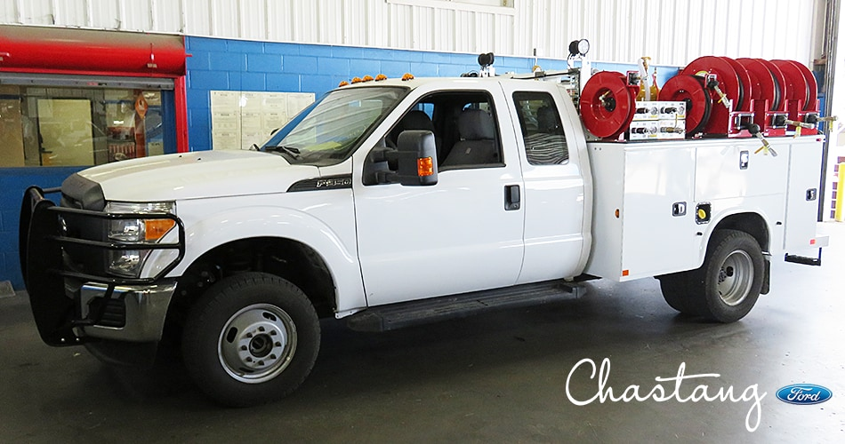 Custom Ford Work Truck Upfits Houston TX