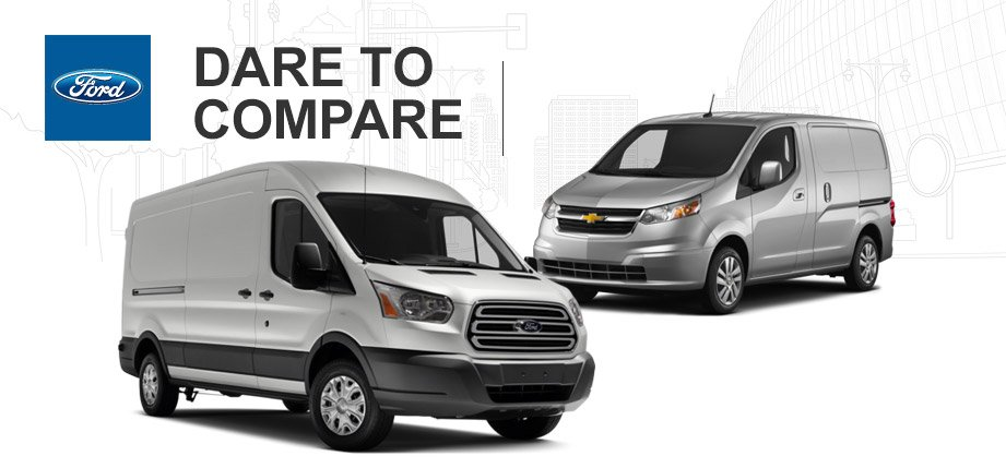 Ford Transit Cargo Vs Chevrolet Express