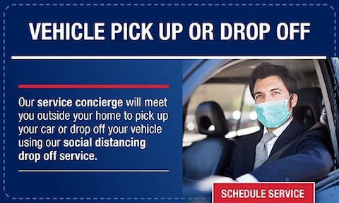 Vehicle Pick Up or Drop Off