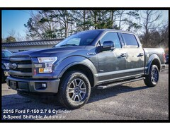 2015 Ford F-150 Lariat 4x4 Lariat  SuperCrew 5.5 ft. SB