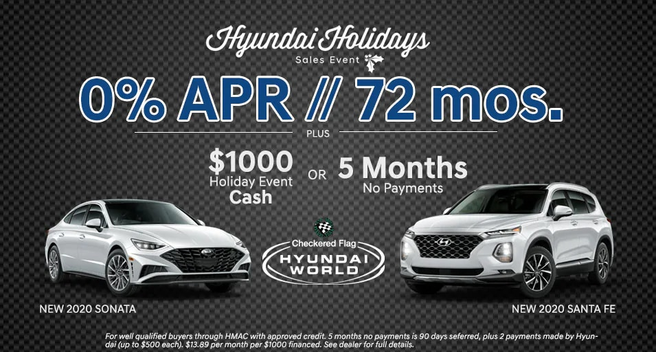 Hyundai Holidays Sales Event