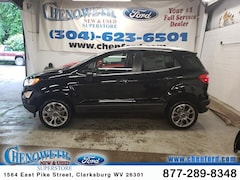New Ford 2019 Ford EcoSport Titanium SUV MAJ6S3KL7KC286417 in Clarksburg, WV