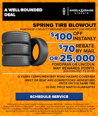 Spring Tire Blowout