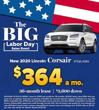 New 2020 Lincoln Corsair