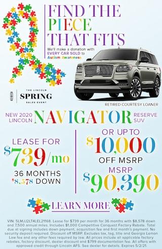New 2020 Lincoln Navigator Models