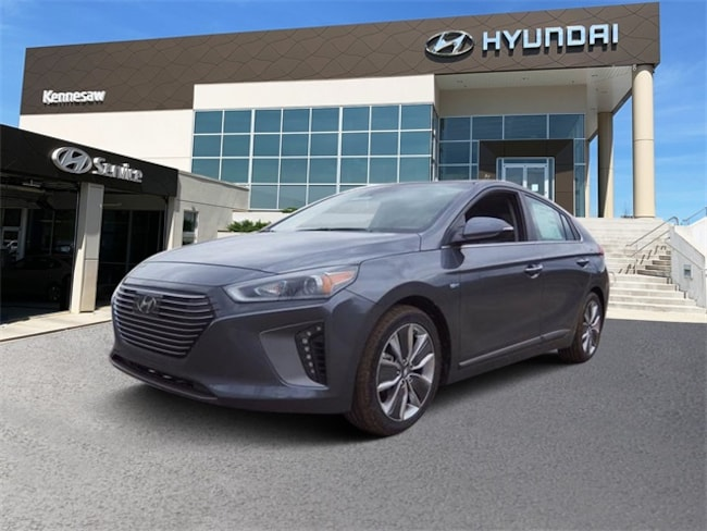 New 2019 Hyundai Ioniq Hybrid Limited Hatchback for sale near Atlanta