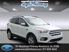 2018 Ford Escape SE SUV for sale in Woodstock, GA near Atlanta
