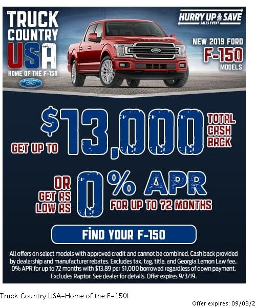 Current Vehicle Specials | Woodstock GA | Serving Canton
