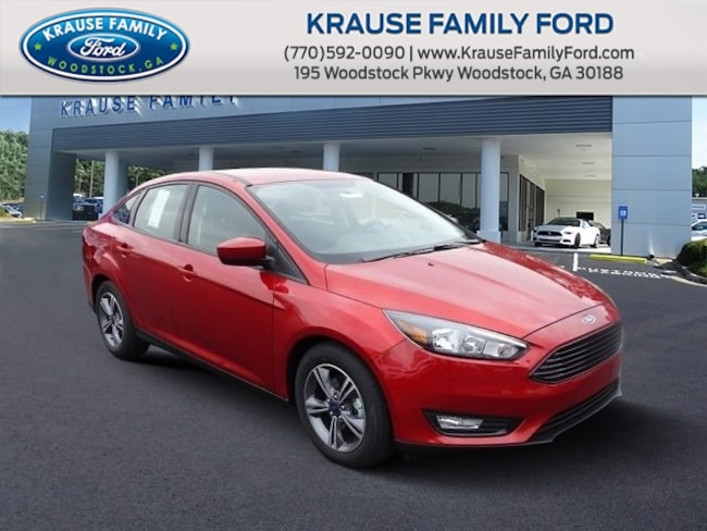 New 2018 Ford Focus SE Sedan for sale in Woodstock GA