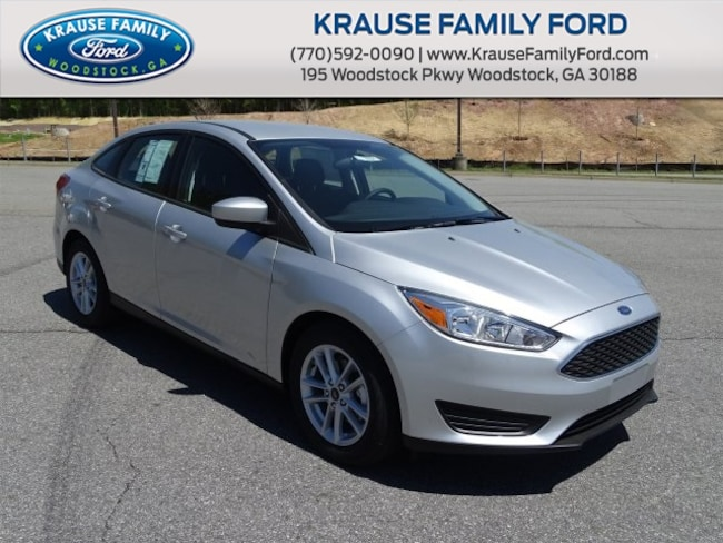 New 2018 Ford Focus SE Sedan for sale in Woodstock GA