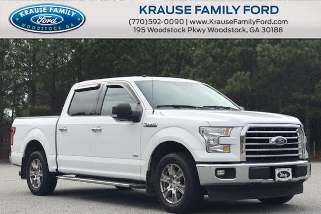 Certified Used 2017 Ford F-150 XLT Chrome App. Pkg, Sync3, Navi, Remote Start Truck in Woodstock GA