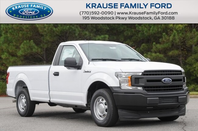 New 2018 Ford F-150 XL Truck Regular Cab for sale in Woodstock GA
