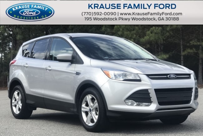 Certified Used 2016 Ford Escape SE Rear View Camera, Sync Comm & Entertainment Sys SUV in Woodstock GA
