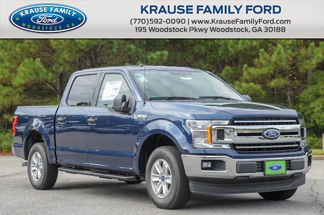 New 2018 Ford F-150 XLT Truck SuperCrew Cab for sale in Woodstock GA