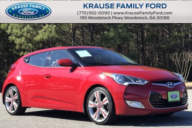 Used 2012 Hyundai Veloster Base Tech & Style Pkgs, w/Pano Moon, Prem. Audio Hatchback for sale near Atlanta
