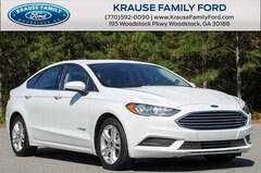 2018 Ford Fusion Hybrid SE Sedan for sale in Woodstock, GA near Atlanta