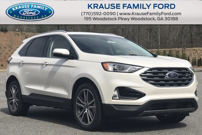 New 2019 Ford Edge Titanium SUV for sale in Woodstock GA