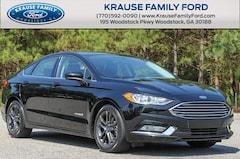2018 Ford Fusion Hybrid SE Appearance Pkg, Rear Spoiler, Rear View Camera Sedan for sale in Woodstock, GA near Atlanta