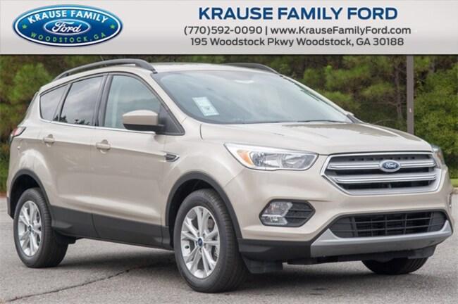 New 2018 Ford Escape SE SUV for sale in Woodstock GA